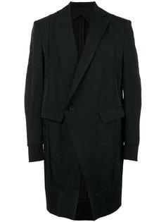 пальто с принтом на спине Julius