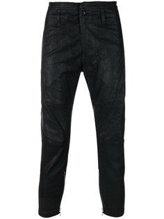 укороченные байкерские джинсы Julius