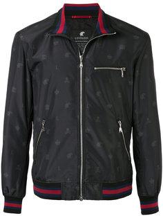 куртка-бомбер с отделкой в полоску Loveless