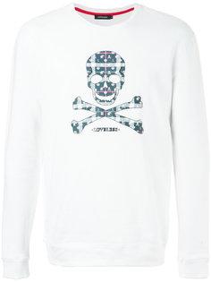 свитер с вышивкой Loveless