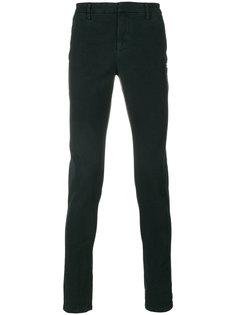 однотонные брюки-чинос Dondup
