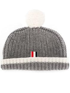 шапка с помпоном Thom Browne