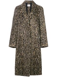пальто с леопардовым рисунком Dorothee Schumacher