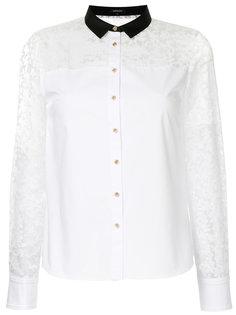 рубашка с полупрозрачными вставками Loveless