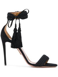 туфли-лодочки с кисточками Aquazzura