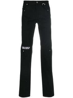 брюки кроя слим с принтом Icosae