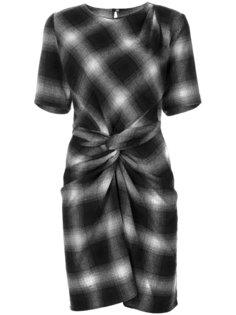 клетчатое платье Pardena Isabel Marant Étoile
