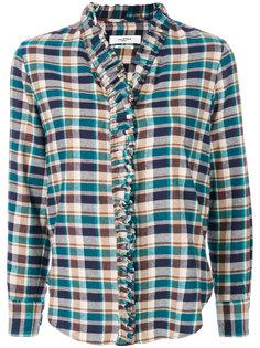 клетчатая рубашка Awendy Isabel Marant Étoile