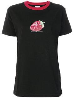 футболка с изображением клубники Nicopanda