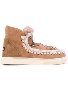 ботинки с блестящим декором Mou