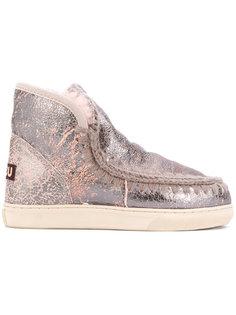 ботинки с декоративной строчкой Mou