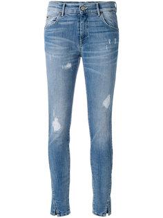 облегающие рваные джинсы Htc Hollywood Trading Company