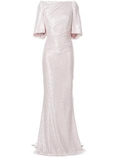 платье со шлейфом  Talbot Runhof