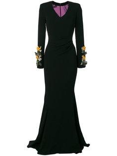 платье Posto Talbot Runhof
