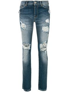 состаренные джинсы  Htc Hollywood Trading Company