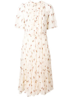 floral print flared dress Masscob