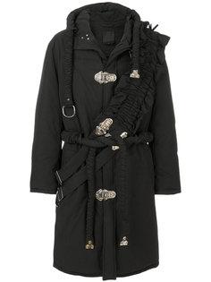 объемное пальто-пуховик с капюшоном Craig Green