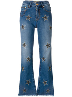 укороченные джинсы клеш Dont Cry