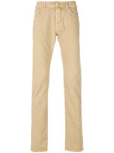 классические приталенные брюки-чинос Jacob Cohen