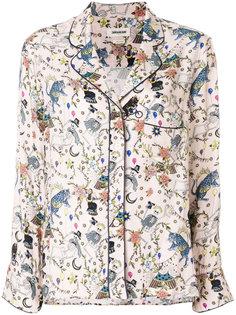 рубашка с принтом Zadig & Voltaire