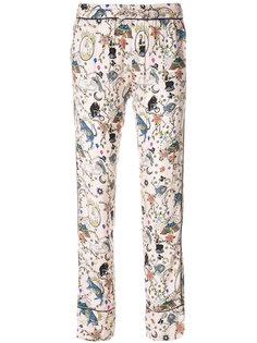 брюки с принтом Zadig & Voltaire