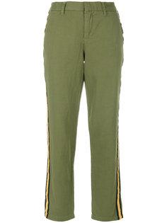 укороченные брюки с полосками по бокам Zadig & Voltaire