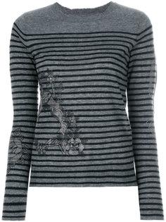 свитер в полоску Zadig & Voltaire