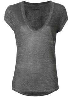 футболка с V-образным вырезом Zadig & Voltaire