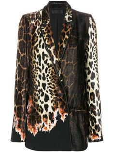 пиджак Ernest с леопардовым узором Haider Ackermann