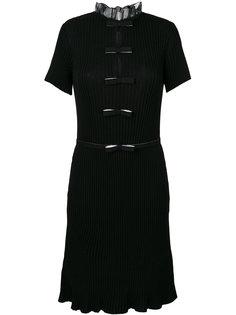 вязаное платье-шифт с ребристой фактурой Giambattista Valli