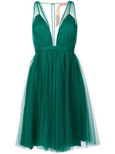 платье с верхним слоем из тюля Nº21