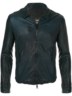 приталенная куртка на молнии Giorgio Brato