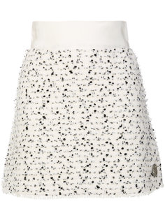 юбка мини с вкраплениями Moncler Gamme Rouge