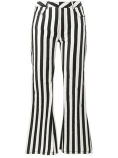 полосатые брюки скинни средней посадки Marquesalmeida