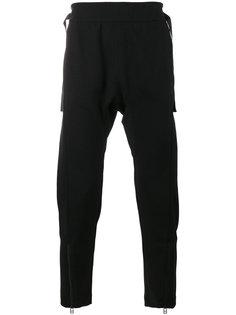 брюки с заниженной проймой Helmut Lang