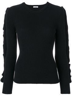 свитер с оборками на рукавах  P.A.R.O.S.H.