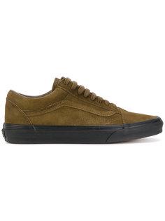 кроссовки на контрастной подошве Vans