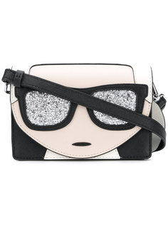 сумка на плечо Karl с блестками Karl Lagerfeld