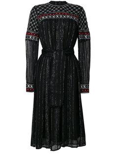 платье с поясом с металлическими деталями Dodo Bar Or