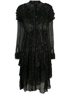 платье с оборками и металлическими деталями Dodo Bar Or