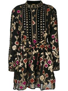 платье Loren с металлизированной отделкой Dodo Bar Or