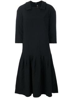 платье с рукавами длиной три четверти Comme Des Garçons Comme Des Garçons
