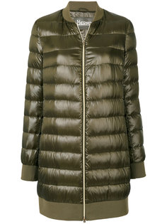дутое пальто-бомбер  Herno