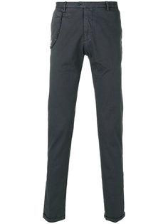 брюки-чинос с цепочной отделкой Biagio Santaniello