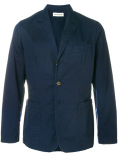 приталенный пиджак с застежкой на три пуговицы Universal Works