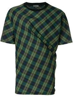 клетчатая футболка Lanvin