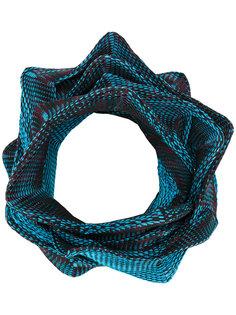 структурированный шарф Issey Miyake