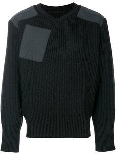 свитер с накладным карманом Julius