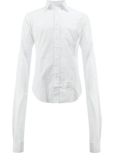 однотонная рубашка Thom Browne
