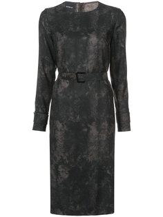 платье с поясом Akris